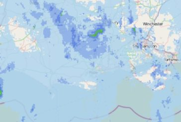 Wet weather edging in from the west